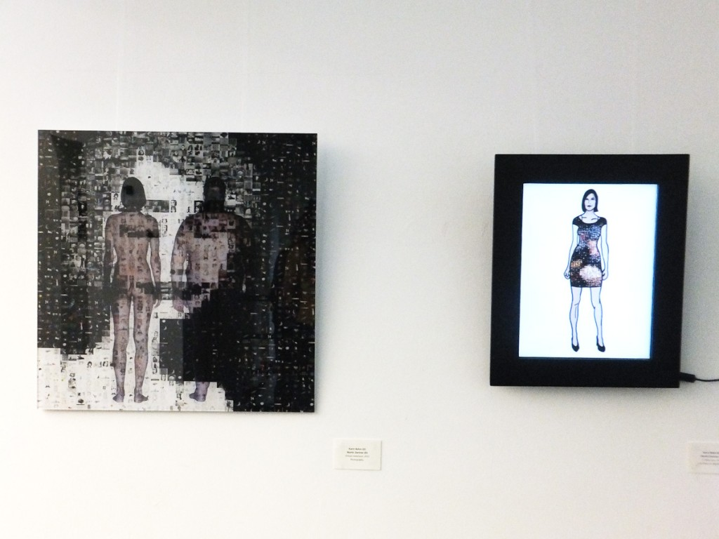 """Virtual Immersion"", ""If I wear you"", 2012, Schattenwald (kr)"