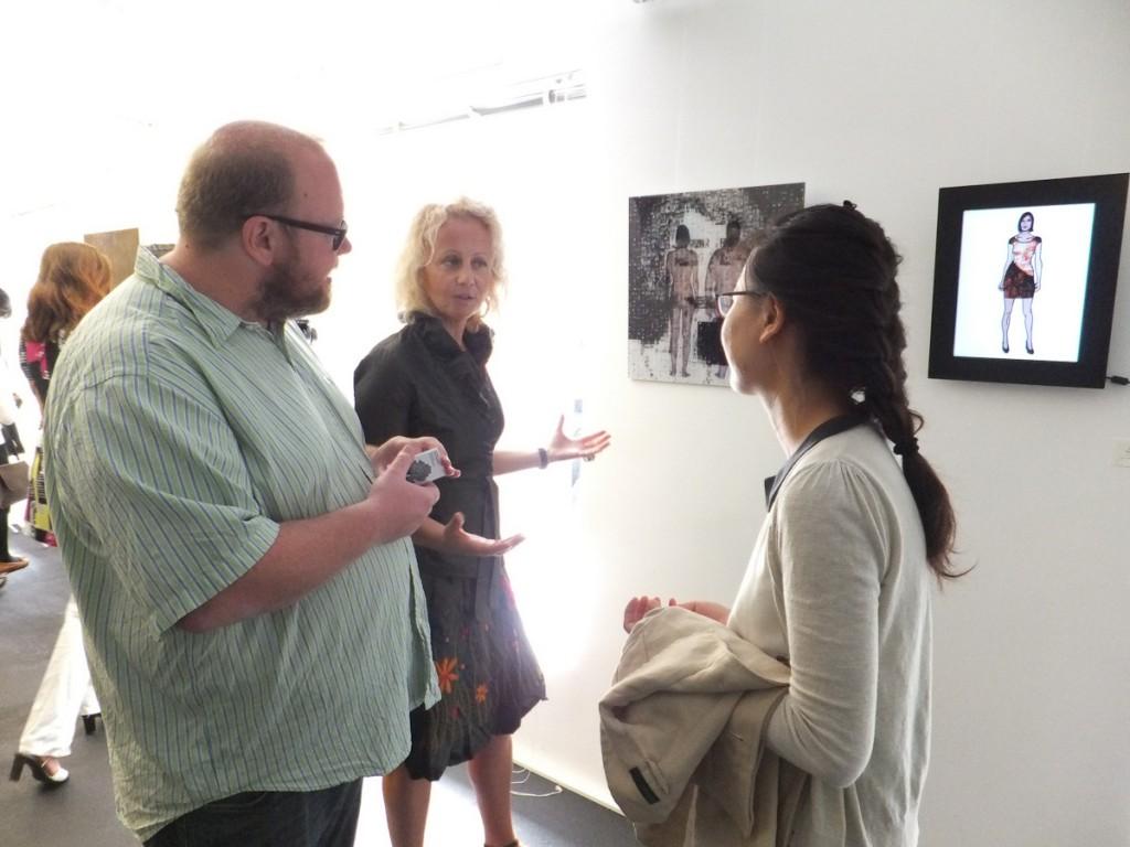 Martin Zentner showing Schattenwald's work (kr)