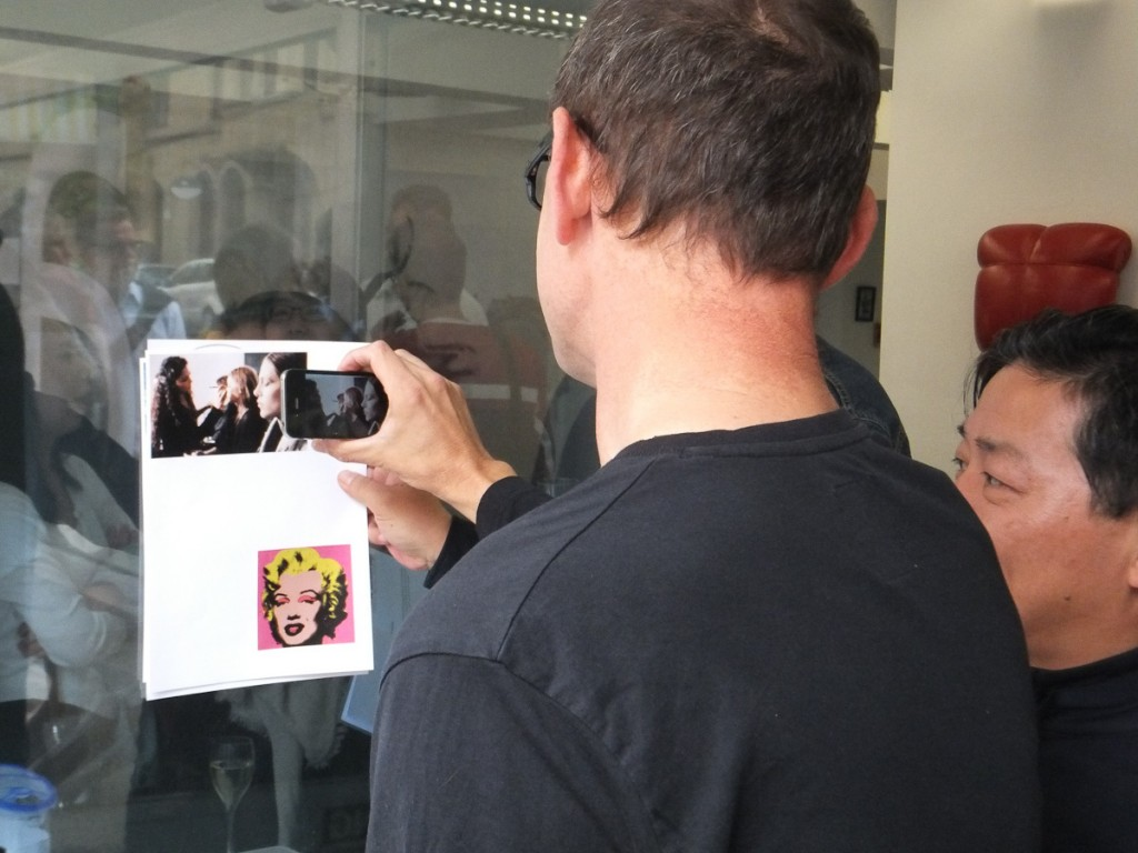 Masayuki Akamatsu explaining augmented reality (kr)