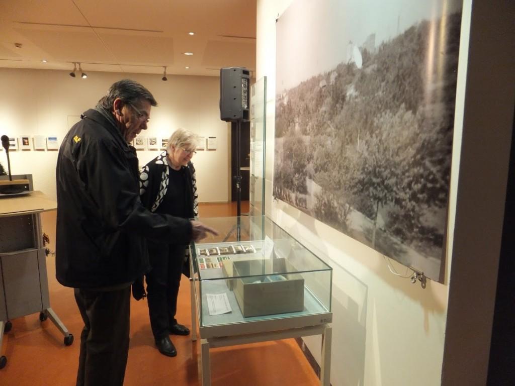 Volker Friebel (Leiter des Museums im Klosterhof Lauffen a.N.) und seine Frau Brigitte